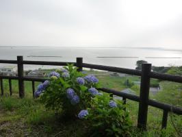 高台から見た霞ヶ浦