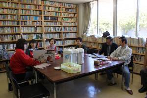 榎本地区農民研修センター図書室