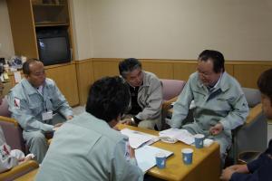 鈴木副町長から被災状況を伺いました