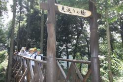 新橋渡り初め1