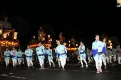 本城の手踊り