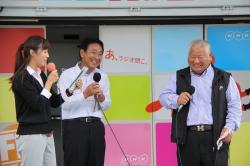 海老澤武美さんと芹沢ひろしさん