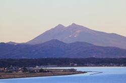 タワーから見た筑波山