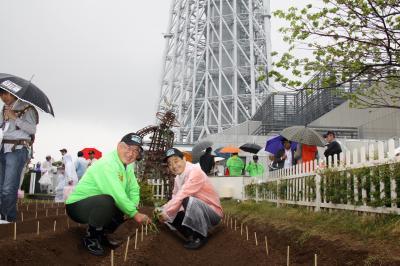 伊藤市長と中川JAなめがた組合長
