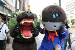 メロン熊とニコちゃん