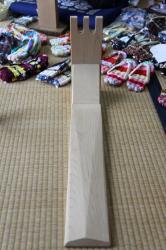 布草履の道具