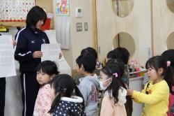 麻生幼稚園への取材1