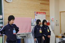 麻生幼稚園への取材2