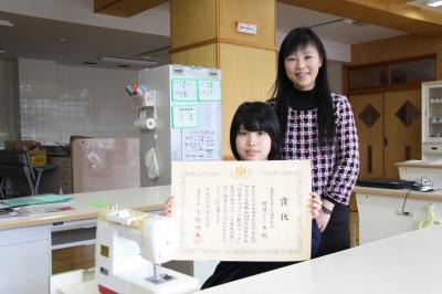 櫻井こころさんと岡田奈々教諭