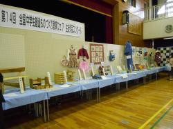 他の作品とともに出展された櫻井さんの作品