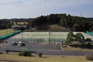 『北浦運動場 テニスコート』の画像