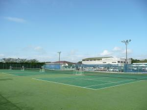 『玉造運動場 テニスコート』の画像
