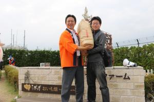 『市長賞は行方産の新米30キロ』の画像