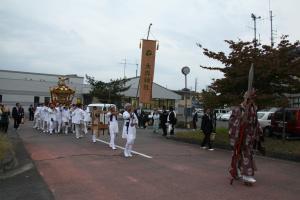『平成26年神輿還御の行列』の画像