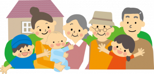 『家族だんらん』の画像