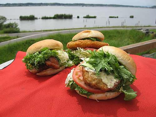 『『行方(なめがた)バーガー』の画像』の画像