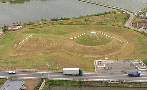 『三昧塚古墳公園(さんまいづかこふんこうえん)』の画像