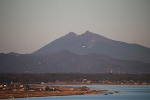 『タワーから見た筑波山2015』の画像