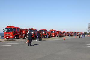 『消防車両』の画像