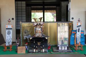 『家老屋敷五月人形展示2』の画像
