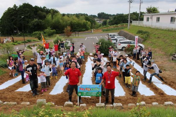 『0621大豆苗植え』の画像