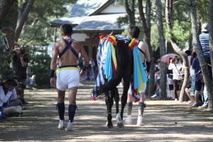 『馬と曳き手』の画像