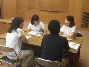 『平成27年度行方市教育委員会初任者研修会5』の画像