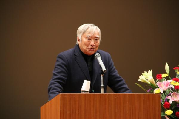 三浦雄一郎氏の講演1