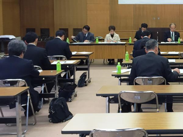 『平成27年度行方市いじめ問題対策連絡協議会』の画像