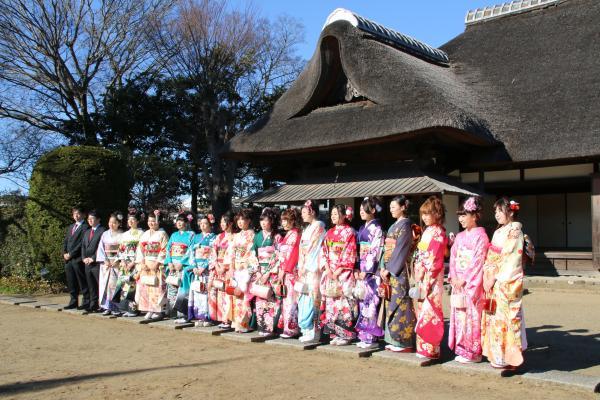 『平成28年成人式家老屋敷での撮影会』の画像
