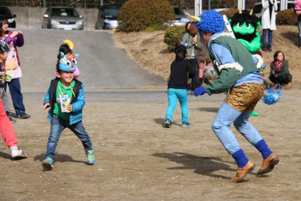 『北浦幼稚園節分豆まき02』の画像