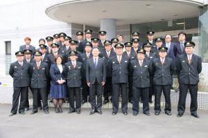 『0401消防団辞令交付式01』の画像