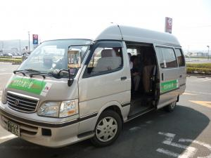 『乗合タクシー 行方ふれあい号』の画像