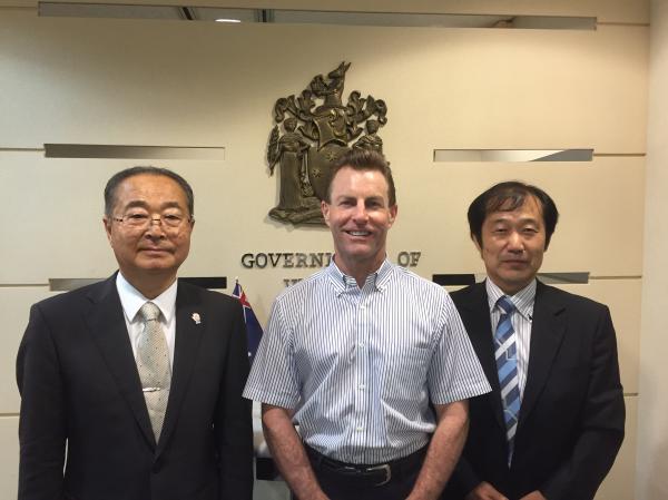 『ビクトリア州政府東京事務所 訪問』の画像