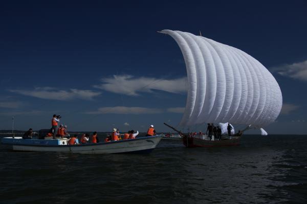 『帆引き船1』の画像