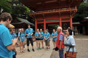 『鹿島神宮にて』の画像