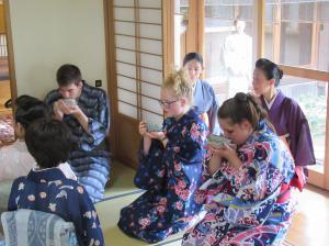 『茶道体験』の画像