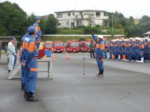 『0924消防操法大会競技風景01』の画像
