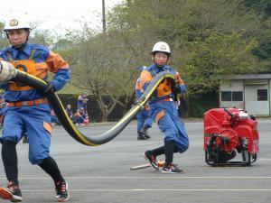 『0924消防操法大会競技風景03』の画像