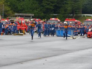 『0924消防操法大会競技風景04』の画像