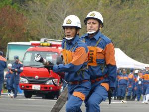 『0924消防操法大会競技風景06』の画像