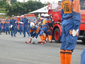 『0924消防操法大会競技風景08』の画像