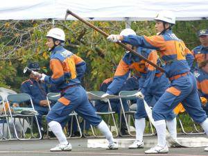 『0924消防操法大会競技風景09』の画像