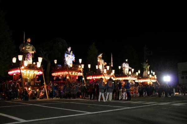 『2016総踊り山車5台』の画像