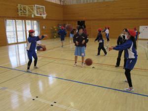 『出前授業3バスケ(北浦小)』の画像