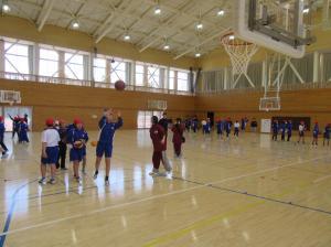 『出前授業5バスケ(北浦小)』の画像