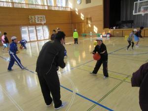 『出前授業8バスケ(北浦小)』の画像