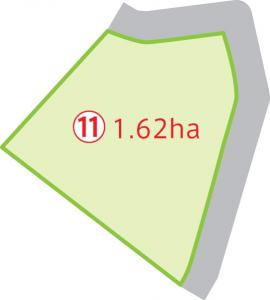 『上山鉾田工業団地区画(11)』の画像