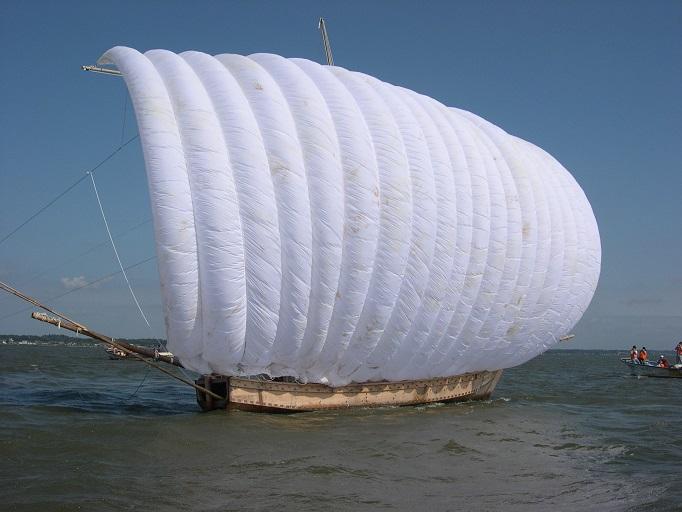 『観光帆引き船HP用写真』の画像