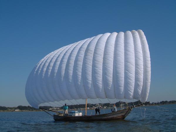 『観光帆引き船写真』の画像